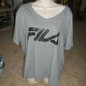 Fila Crop Top Size 3X  Plus Size
